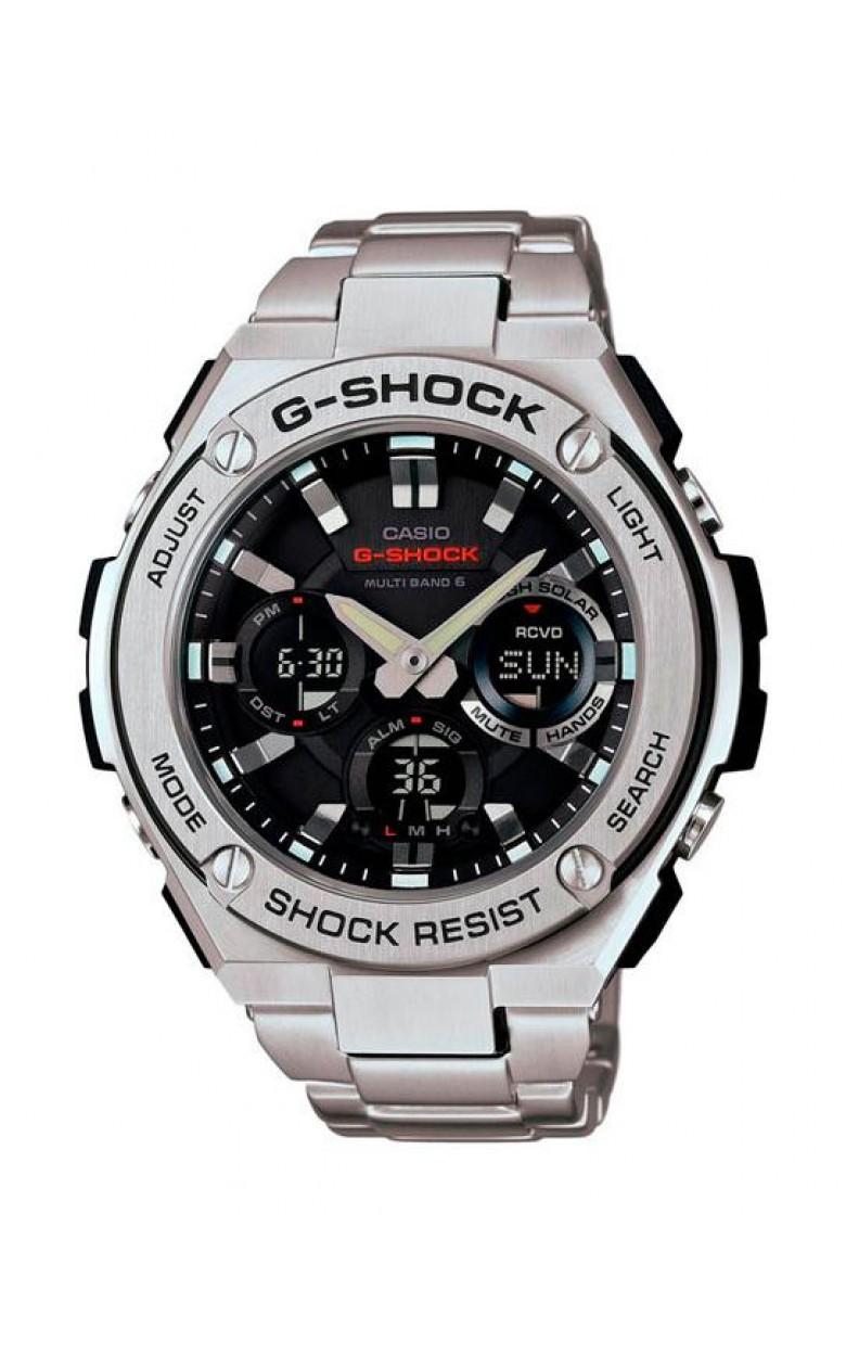 61b19435 ... GST-W110D-1A японские водонепроницаемые мужские кварцевые наручные часы  Casio ...