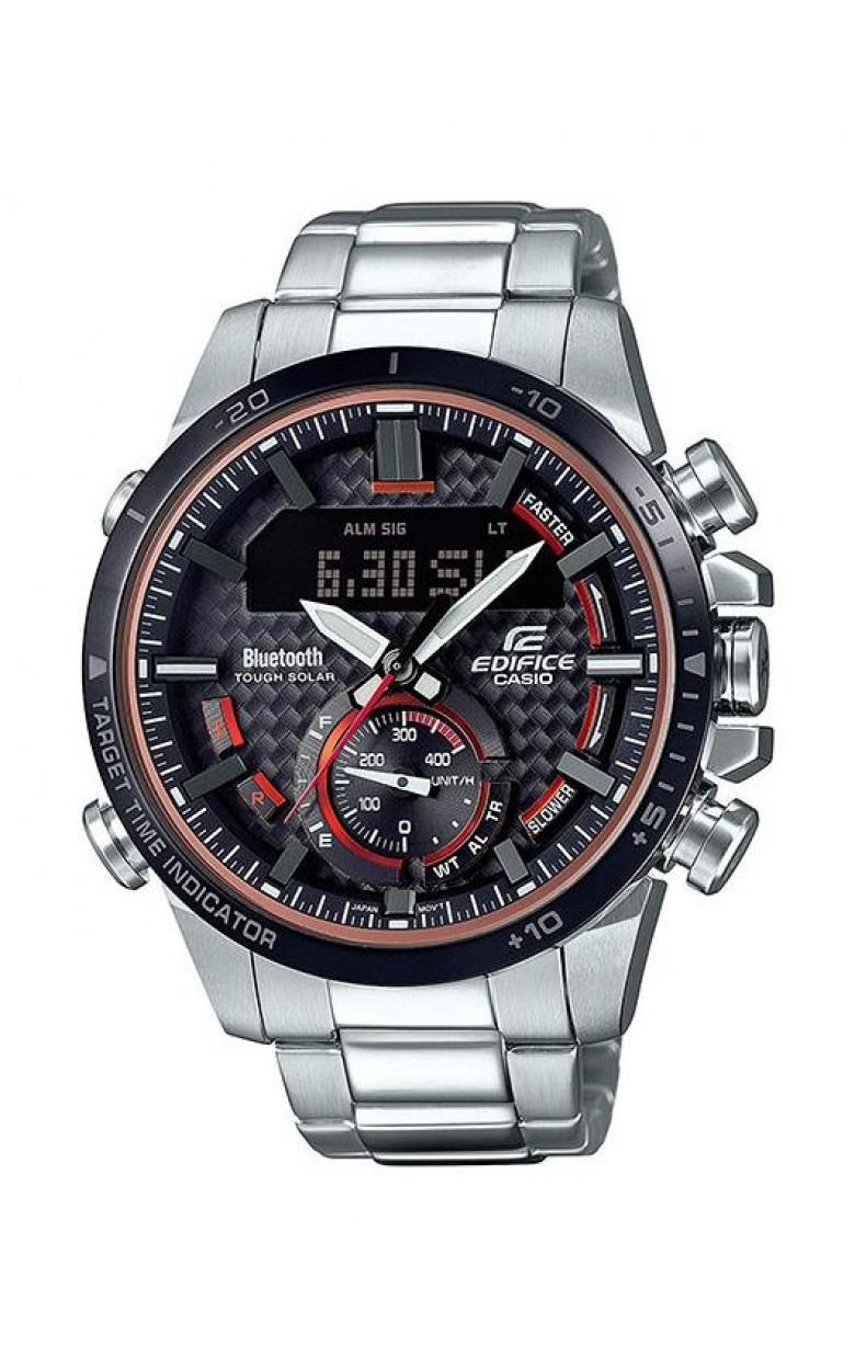 ECB-800DB-1AEF японские мужские кварцевые часы Casio