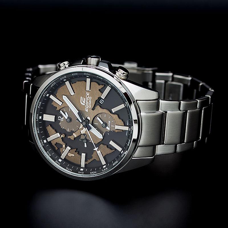 """ETD-300D-5A  кварцевые наручные часы Casio """"Edifice""""  ETD-300D-5A"""