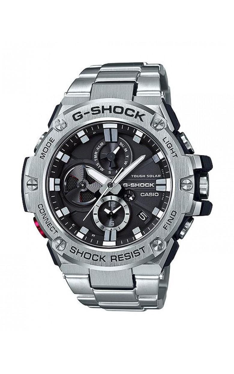GST-B100D-1A японские водонепроницаемые кварцевые наручные часы Casio