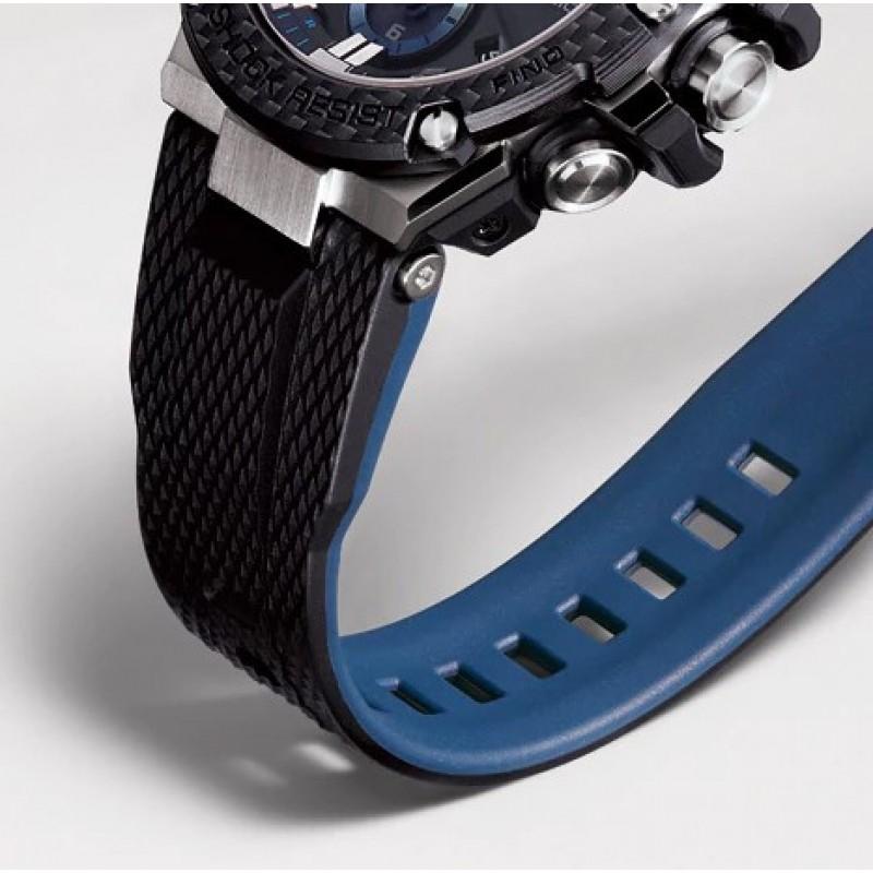 GST-B100XA-1A японские водонепроницаемые кварцевые наручные часы Casio
