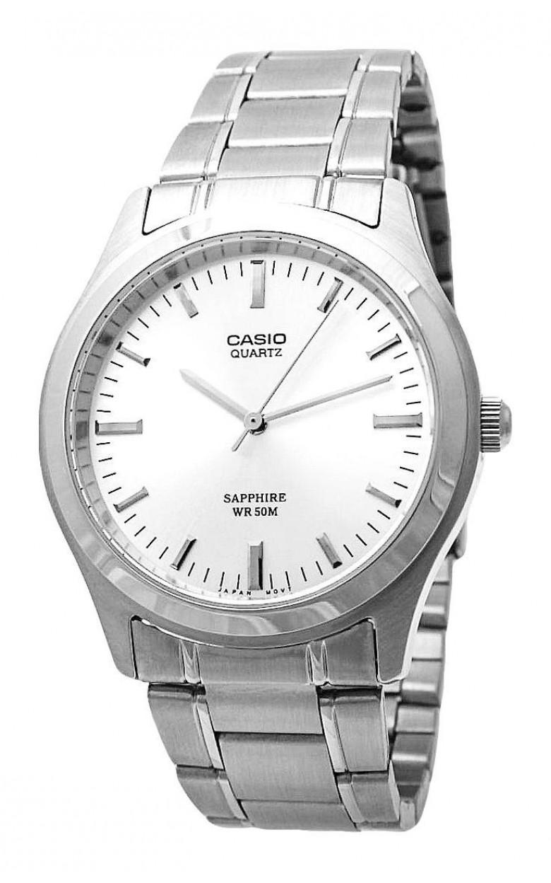 "MTP-1200A-7A  кварцевые часы Casio ""Digital"" с сапфировым стеклом MTP-1200A-7A"