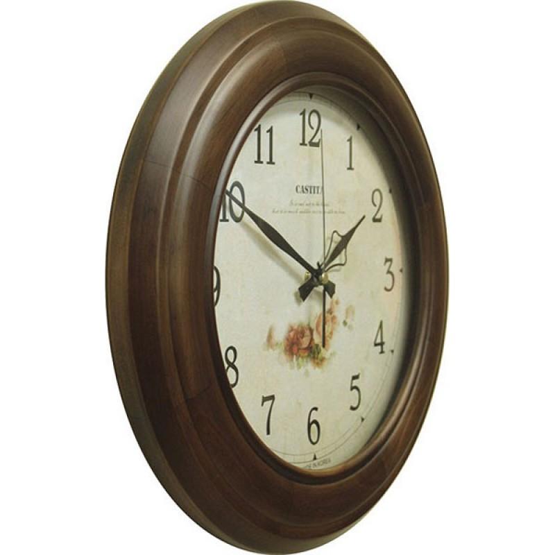 001B Часы настенные Castita кварцевые