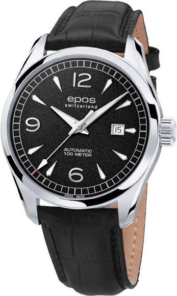 """3401.132.20.55.25 швейцарские механические наручные часы Epos """"Passion"""" для мужчин  3401.132.20.55.25"""