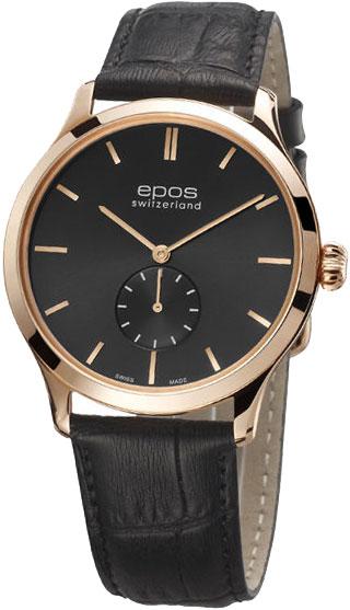"""3408.208.24.14.15  механические наручные часы Epos """"Originale"""" с сапфировым стеклом 3408.208.24.14.15"""