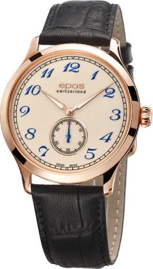 """3408.208.24.31.15  механические наручные часы Epos """"Originale""""  3408.208.24.31.15"""