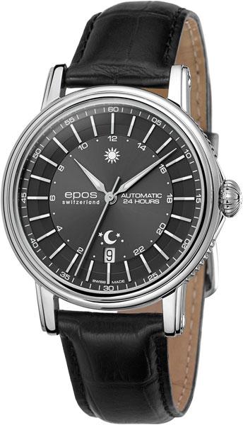 3390.302.20.14.25 швейцарские мужские механические часы Epos  3390.302.20.14.25