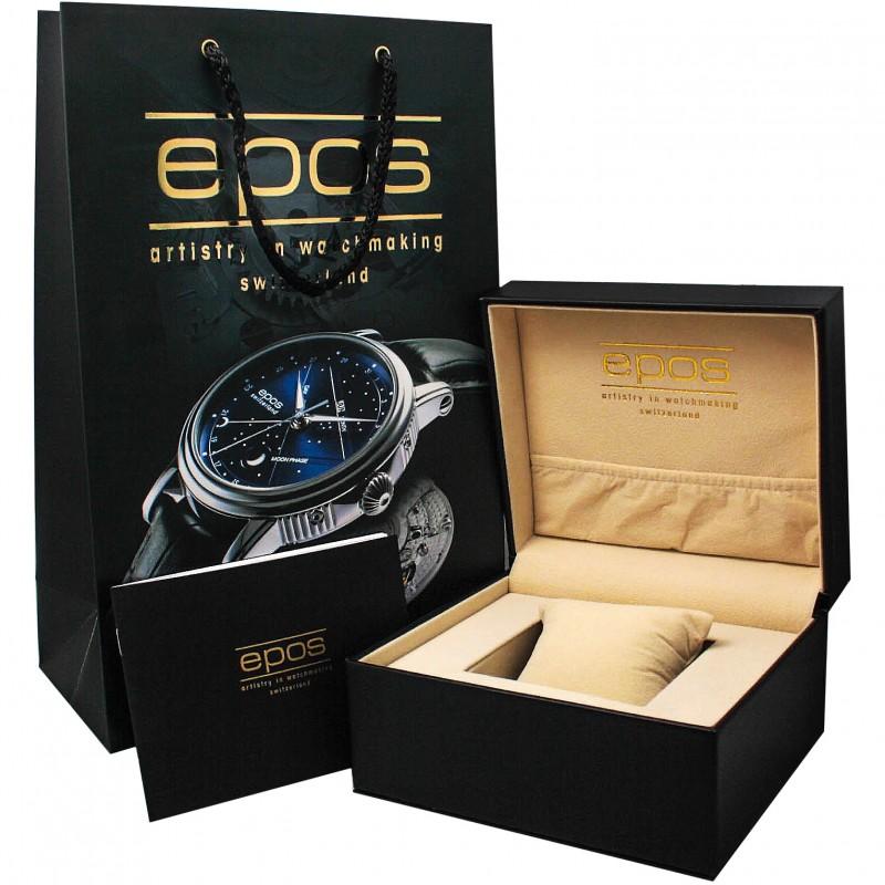 3402.142.20.15.25 швейцарские мужские механические часы Epos  3402.142.20.15.25