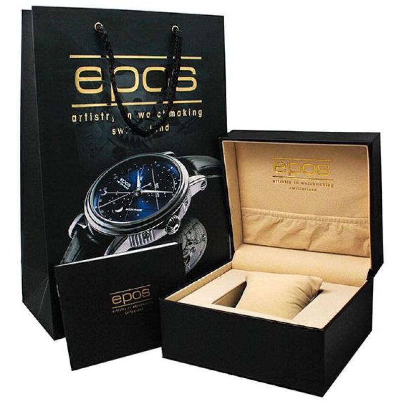3441.135.25.15.55 швейцарские наручные часы Epos  3441.135.25.15.55