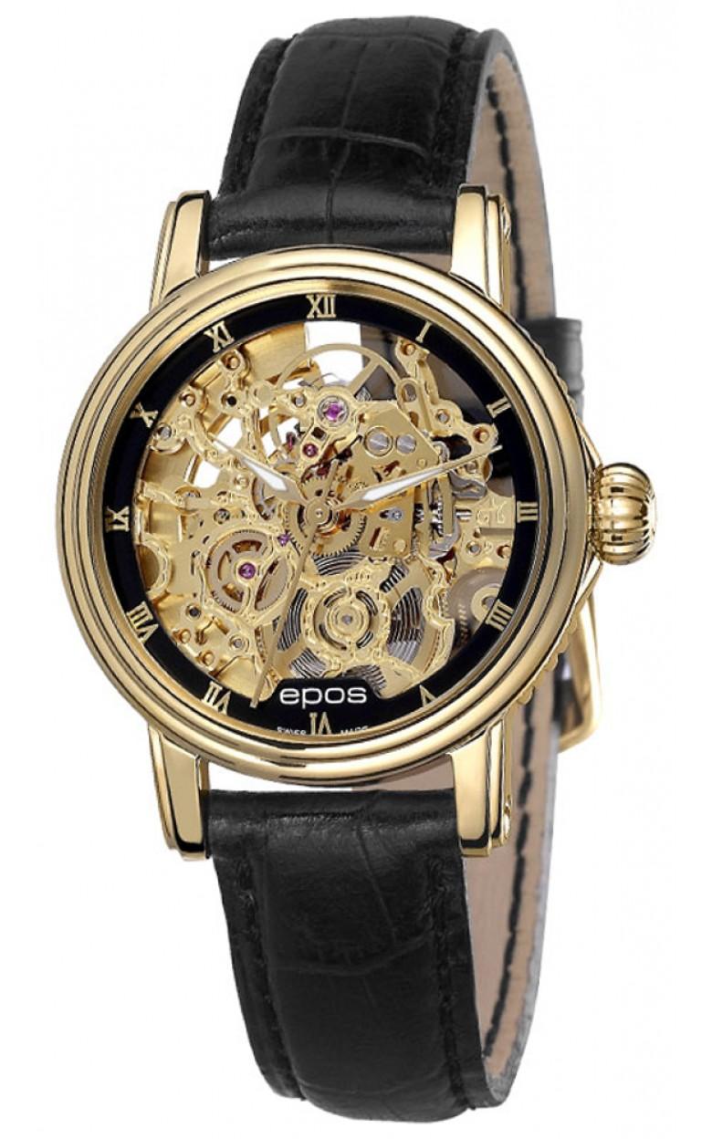4390.156.22.25.15 швейцарские женские механические часы Epos