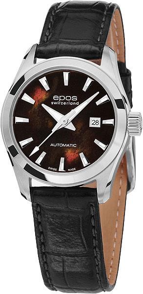 """4401.122.20.15.15 швейцарские механические наручные часы Epos """"Ladies"""" для женщин  4401.122.20.15.15"""