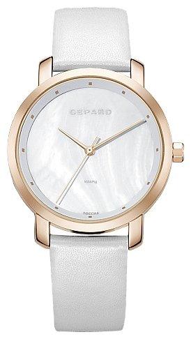 1252A3L7-2 российские кварцевые наручные часы Gepard для женщин  1252A3L7-2