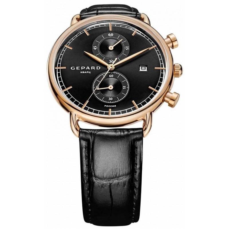 1309A3L5 российские мужские кварцевые наручные часы Gepard  1309A3L5