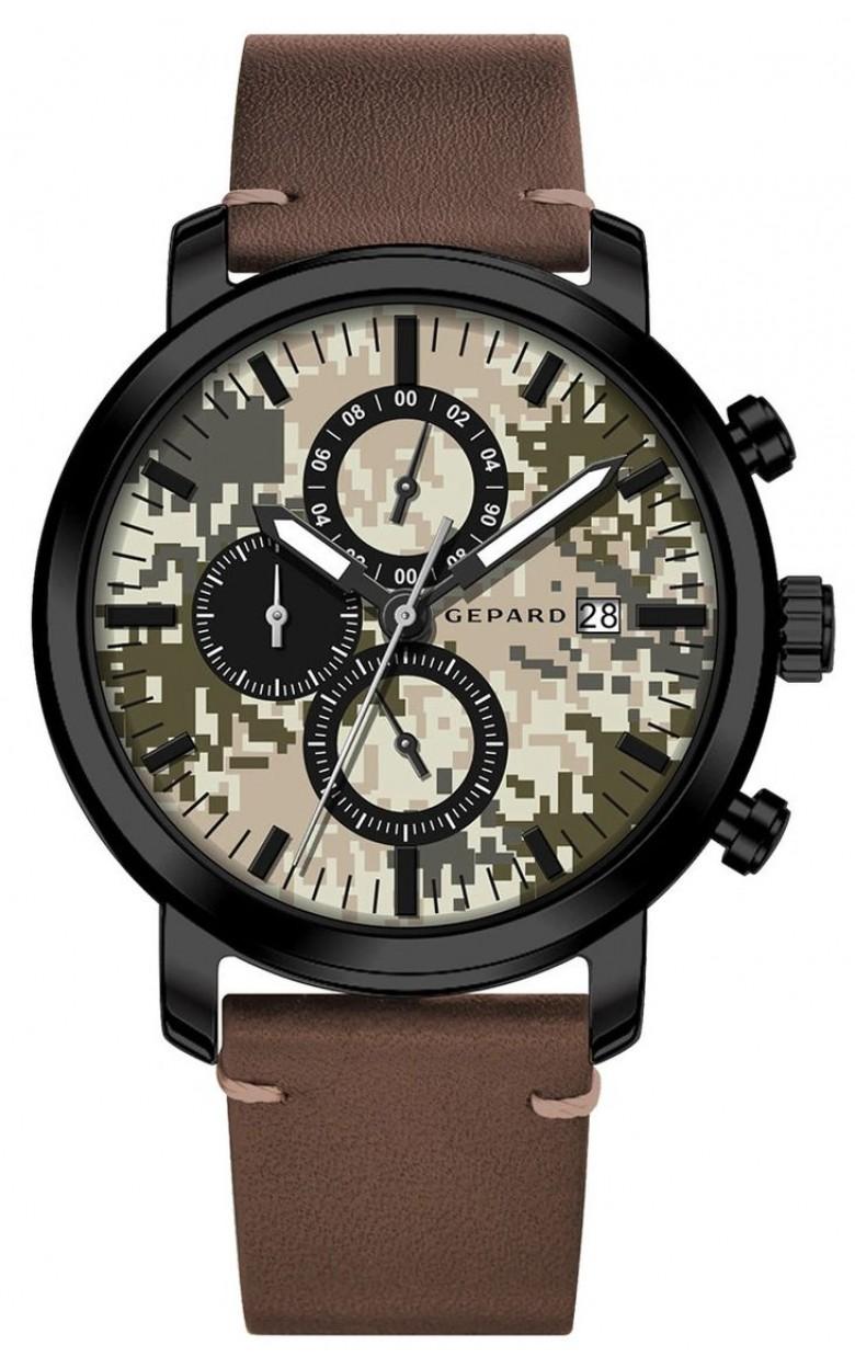 1908A11L1-22 российские кварцевые наручные часы Gepard для мужчин  1908A11L1-22