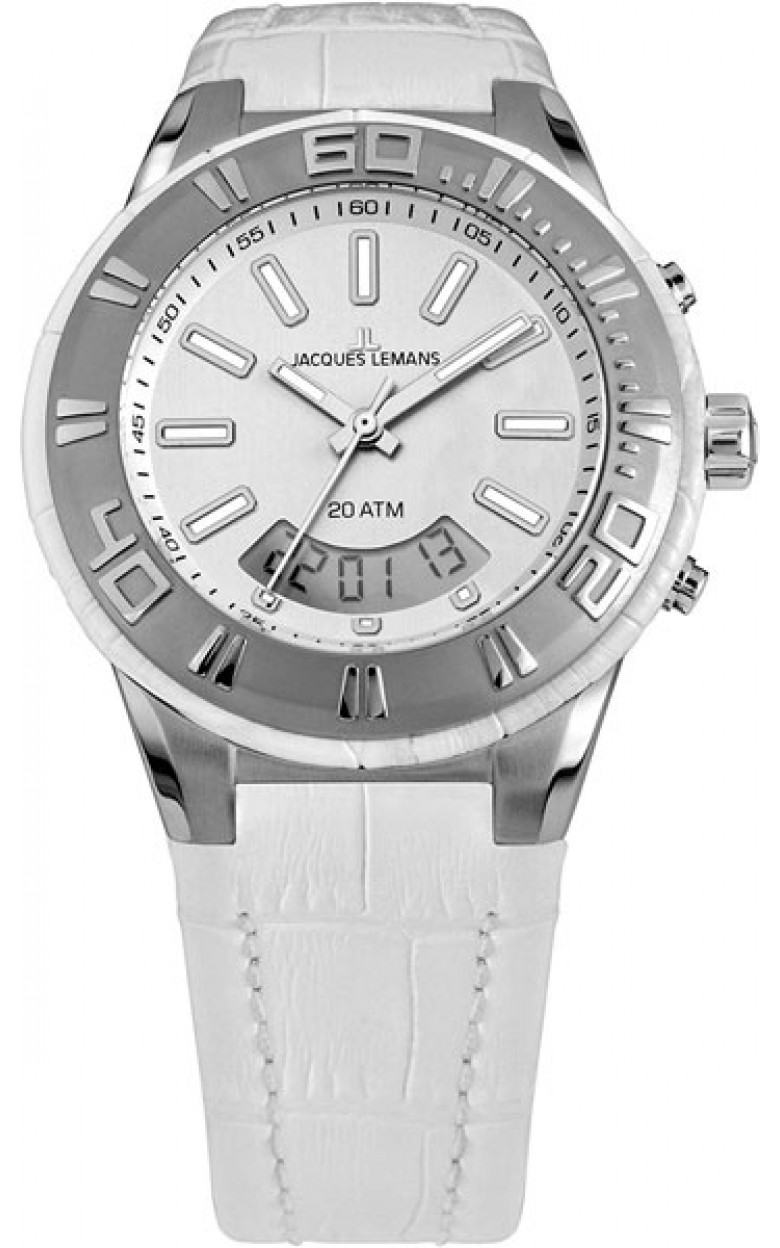 1-1772B  водонепроницаемые кварцевые наручные часы Jacques Lemans для мужчин  1-1772B