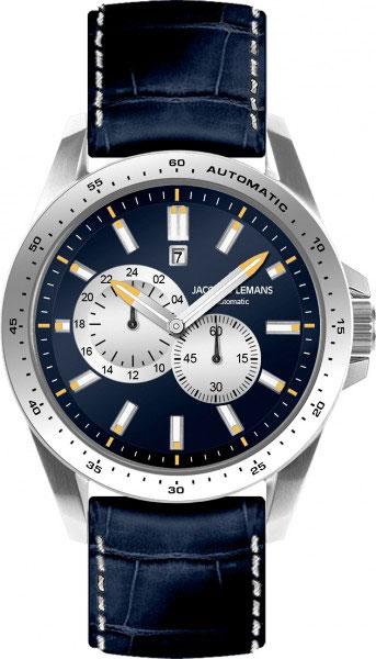1-1775C  мужские механические наручные часы Jacques Lemans  1-1775C