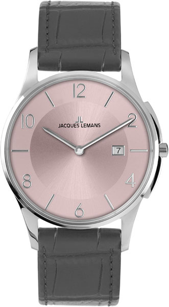 1-1777S  кварцевые наручные часы Jacques Lemans для мужчин  1-1777S