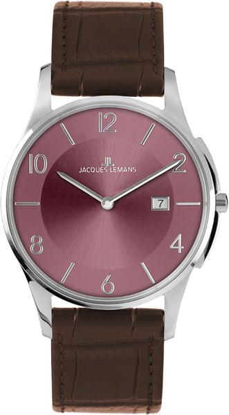 1-1777T  кварцевые наручные часы Jacques Lemans для мужчин  1-1777T
