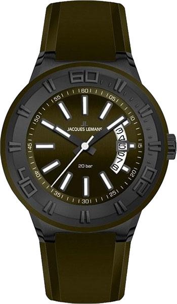 1-1784K  водонепроницаемые кварцевые наручные часы Jacques Lemans для мужчин  1-1784K