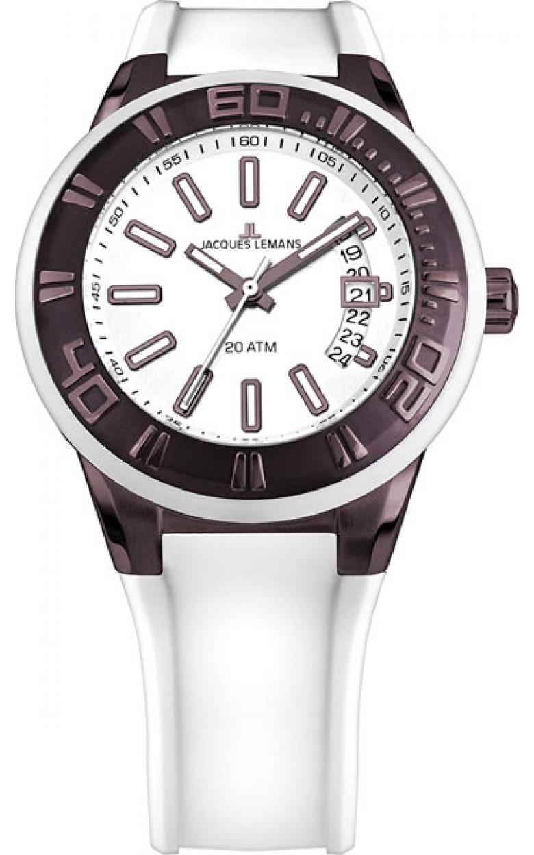 1-1784Q  водонепроницаемые мужские кварцевые наручные часы Jacques Lemans  1-1784Q
