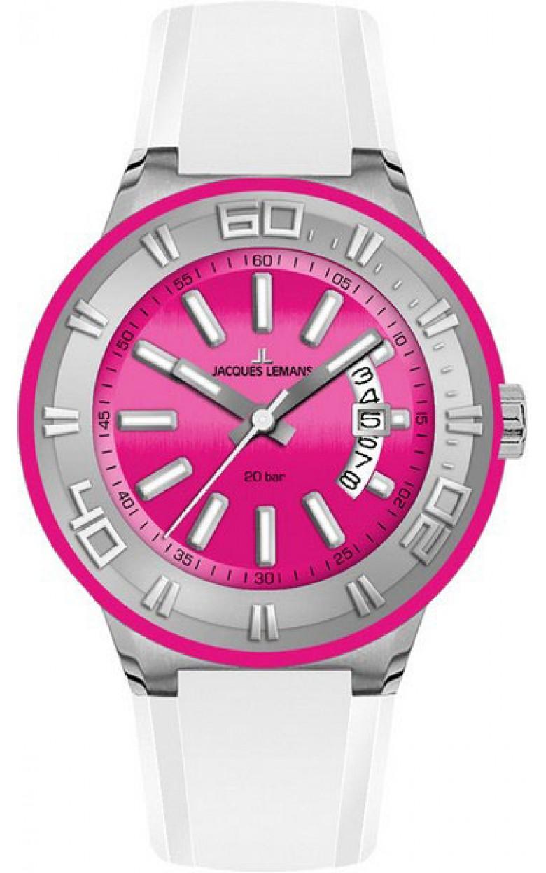 1-1785E  водонепроницаемые женские кварцевые наручные часы Jacques Lemans  1-1785E