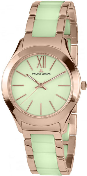 1-1796N  женские кварцевые наручные часы Jacques Lemans  1-1796N
