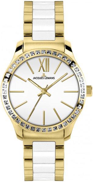 1-1797C  женские кварцевые наручные часы Jacques Lemans  1-1797C