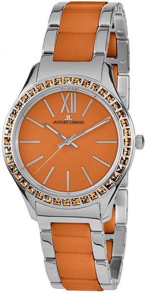 1-1797L  кварцевые наручные часы Jacques Lemans для женщин  1-1797L
