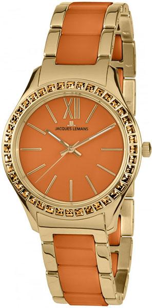 1-1797O  женские кварцевые наручные часы Jacques Lemans  1-1797O