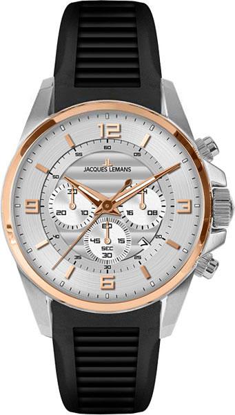 1-1799D  кварцевые наручные часы Jacques Lemans для мужчин  1-1799D
