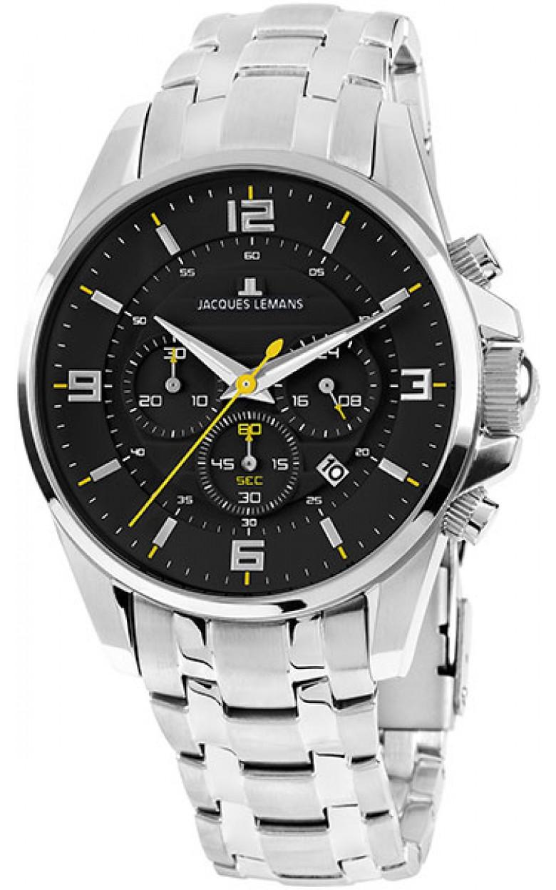 1-1799F  кварцевые наручные часы Jacques Lemans для мужчин  1-1799F