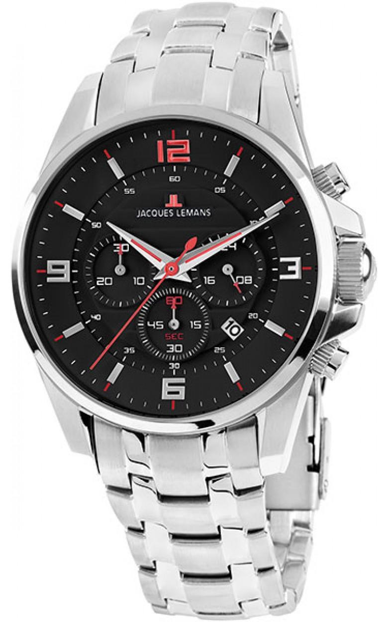 1-1799L  мужские кварцевые наручные часы Jacques Lemans  1-1799L