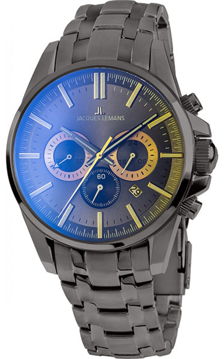 1-1799R  мужские кварцевые наручные часы Jacques Lemans  1-1799R