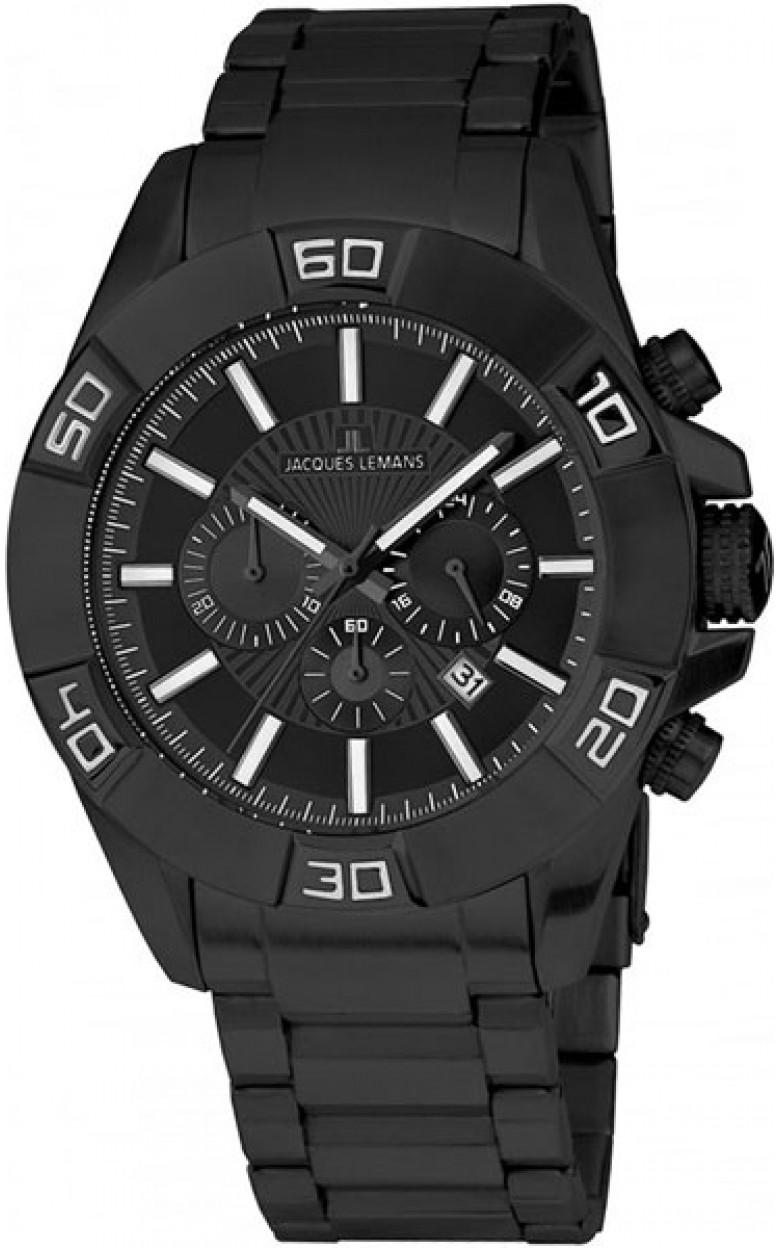 1-1808J  кварцевые наручные часы Jacques Lemans  1-1808J