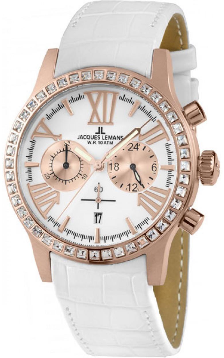 1-1810D  кварцевые наручные часы Jacques Lemans для женщин  1-1810D