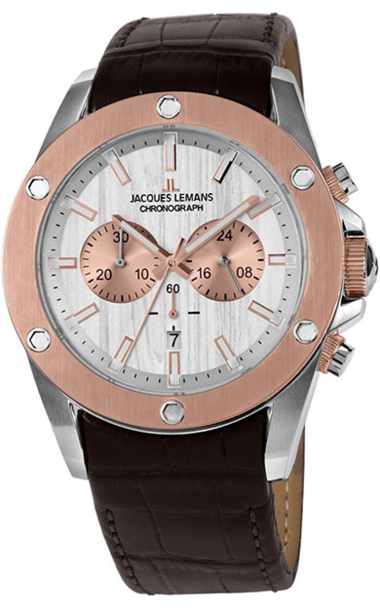1-1812B  мужские кварцевые наручные часы Jacques Lemans  1-1812B