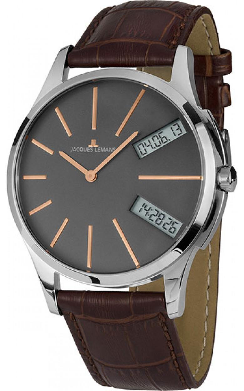 1-1813D  мужские кварцевые часы Jacques Lemans  1-1813D