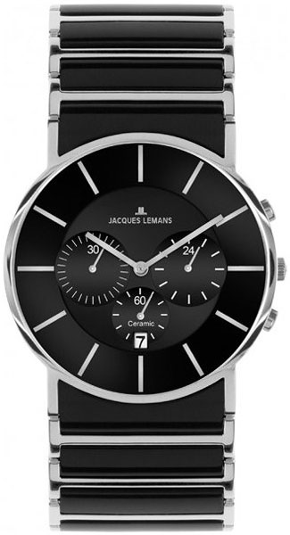 1-1815A  кварцевые часы Jacques Lemans с сапфировым стеклом 1-1815A