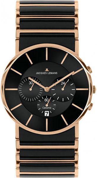 1-1815C  мужские кварцевые часы Jacques Lemans с сапфировым стеклом 1-1815C