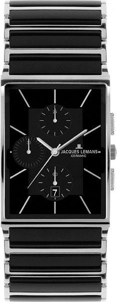 1-1817A  кварцевые наручные часы Jacques Lemans для мужчин с упрочненным стеклом 1-1817A