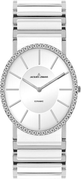 1-1819B  кварцевые наручные часы Jacques Lemans для женщин с упрочненным стеклом 1-1819B