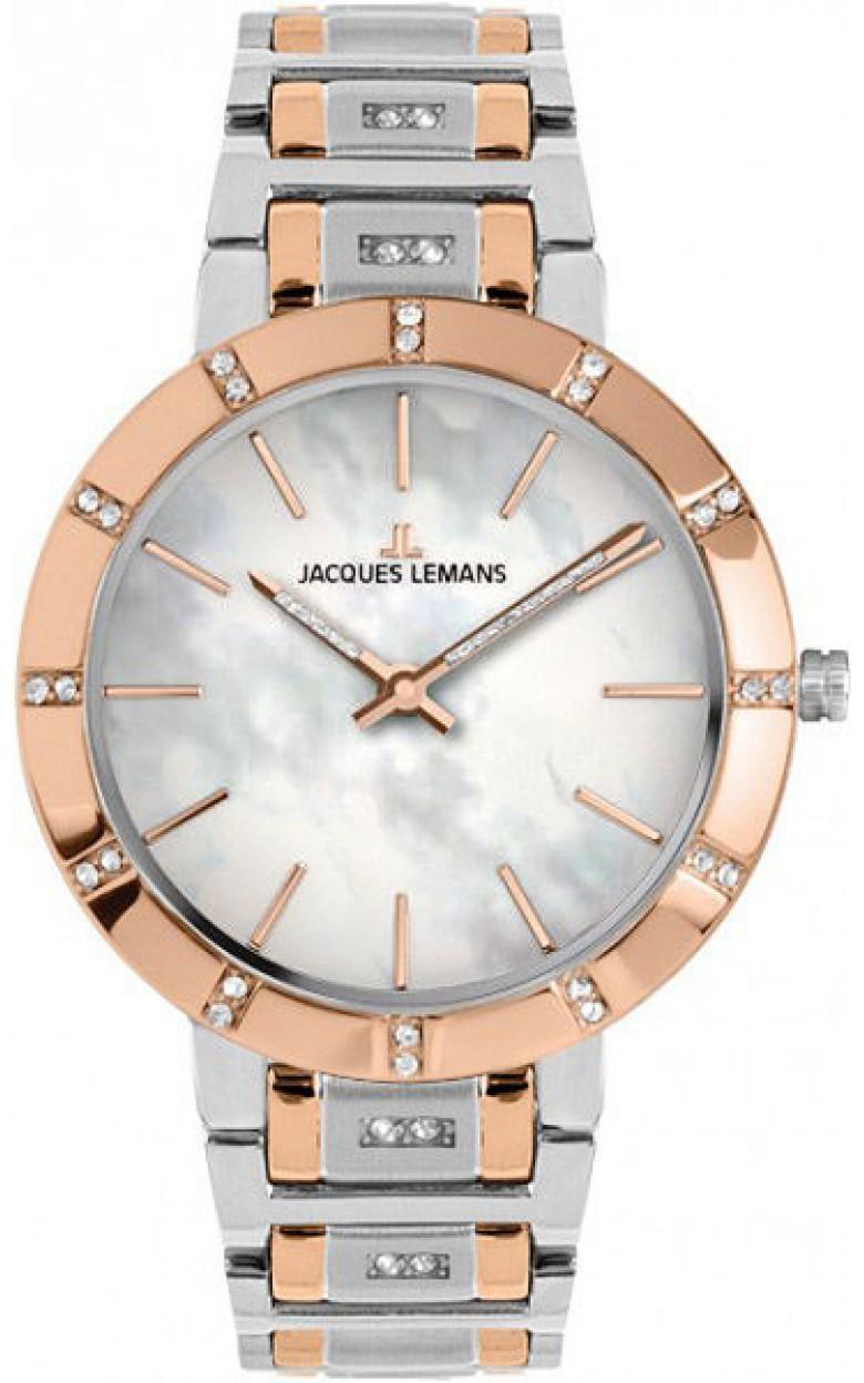 1-1825D  женские кварцевые наручные часы Jacques Lemans  1-1825D