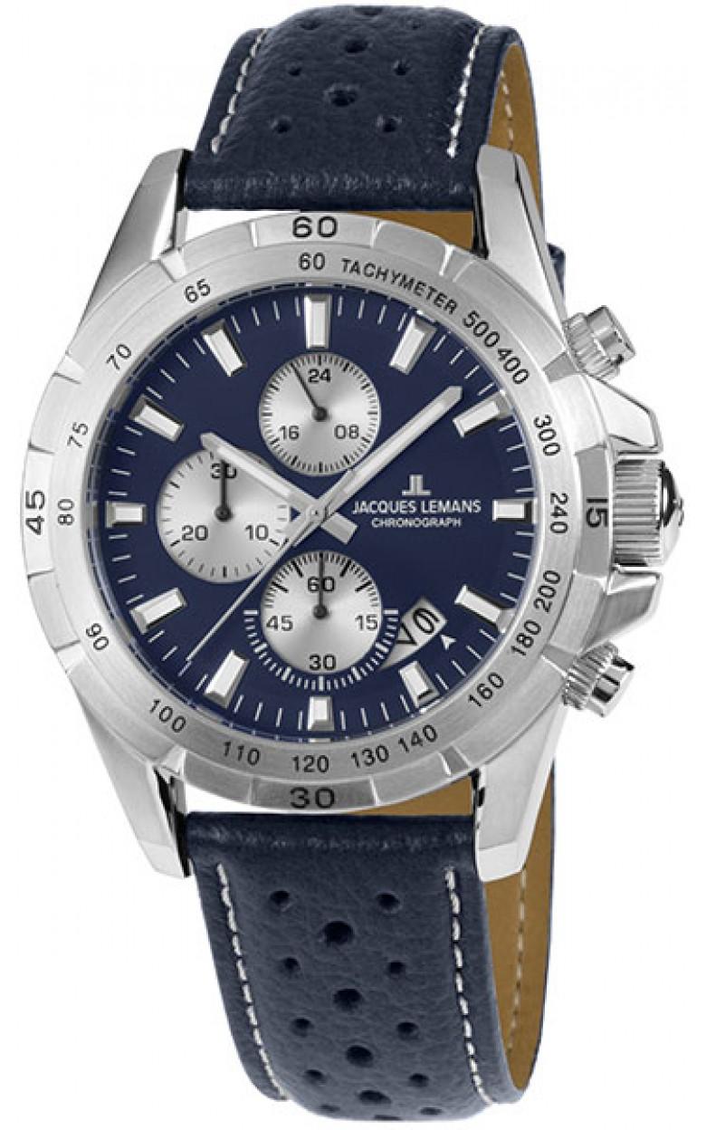 1-1826C  кварцевые наручные часы Jacques Lemans для мужчин  1-1826C