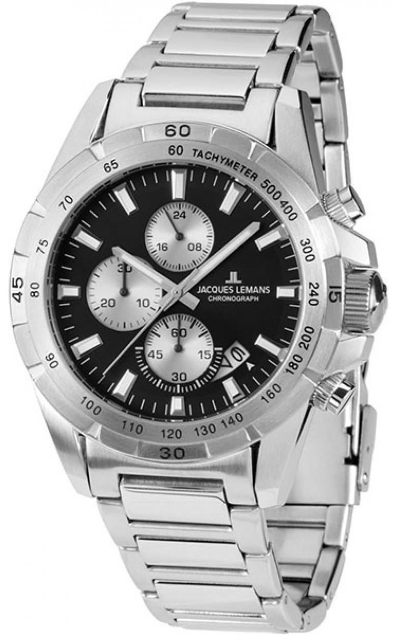 1-1826D  кварцевые часы Jacques Lemans  1-1826D