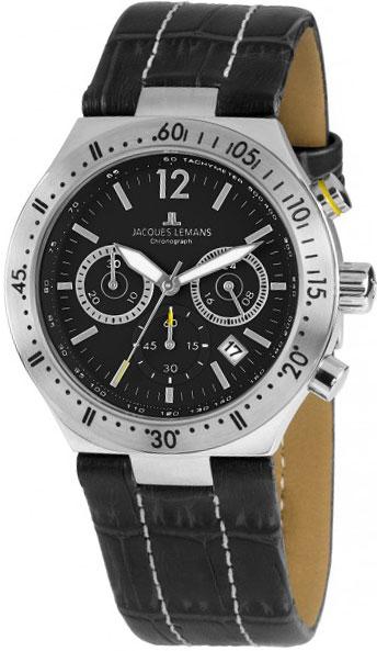 1-1837A  кварцевые часы Jacques Lemans  1-1837A