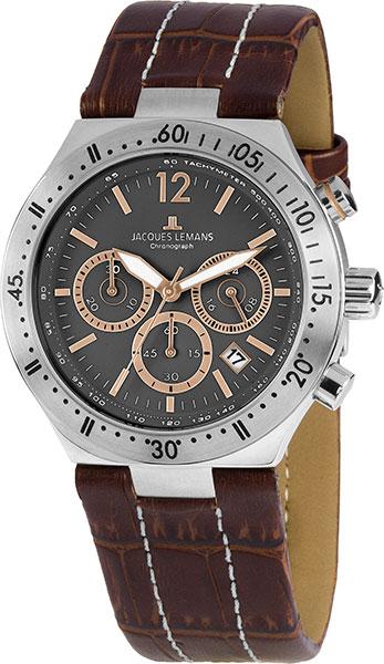 1-1837D  кварцевые часы Jacques Lemans  1-1837D