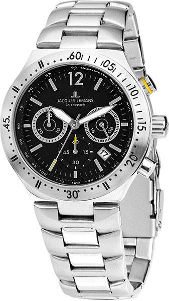 1-1837F  мужские кварцевые наручные часы Jacques Lemans  1-1837F
