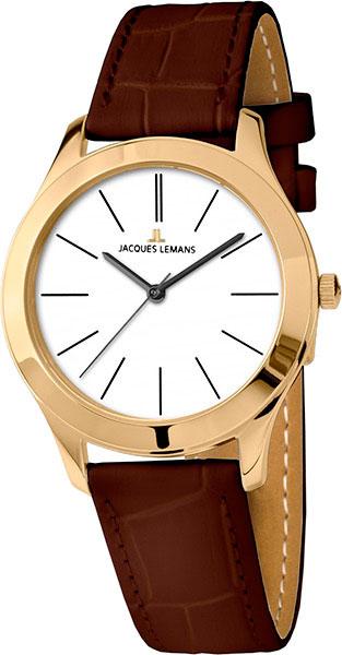 1-1840ZG  женские кварцевые наручные часы Jacques Lemans  1-1840ZG