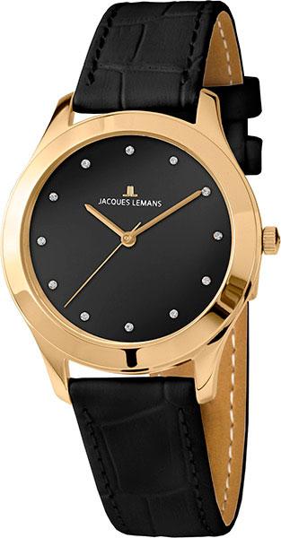 1-1840ZH  кварцевые наручные часы Jacques Lemans для женщин  1-1840ZH