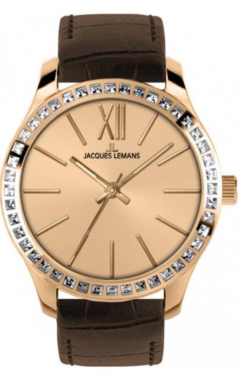 1-1841D  кварцевые наручные часы Jacques Lemans для женщин  1-1841D